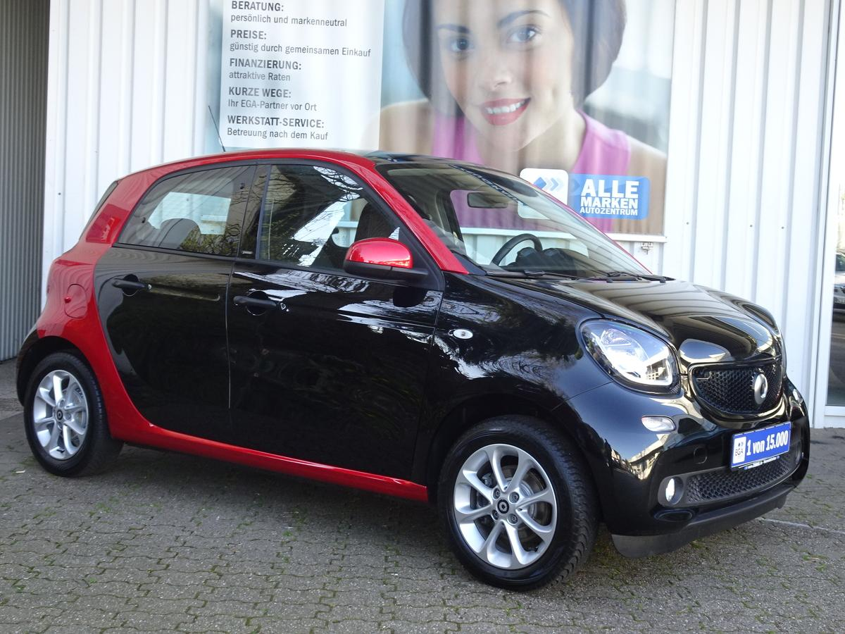 Smart ForFour TWINAMIC COOL&AUDIO PDC SHZ KLIMA PANORAMADACH